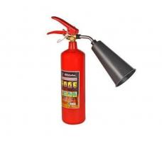 Огнетушитель ОУ-1(ОУ-2) углекислотный вместимость-2л заряд-до 1,5кг  ГОСТ Р 51057-01