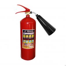 Огнетушитель ОУ-3(ОУ-5) углекислотный вместимость-5л заряд-до 3,5кг  ГОСТ Р 51057-01