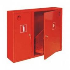 Шкаф пожарный металл. навесной 2отд. закрытый ШПК-315НЗКП 840х650х220мм красн. прав.