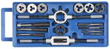 Набор резьбонарезной комб. метчики-плашки 16пр.(М3-М12+вороток.) пластиковая упаковка