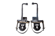 Лазы универсальные ЛУ №2 на ж/б опоры с кожаными ремнями раствор лаза рег.175-190мм