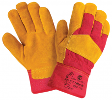 Перчатки комбинированные утепленные