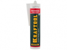Герметик силиконовый KRAFTOOL 300мл универсальный прозрачный \41253-2\(П*)