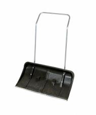 Движок ДБп для снега №8 (820х450мм) пластиковый стальная планка на колесиках с ручкой 120см