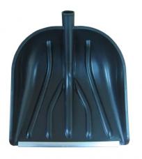 Лопатаснеговая радиусная пластиковая(410х460хh165мм) алюминиевая планка без черенка