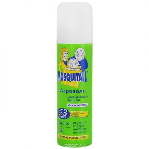Аэрозоль от комаров, мокрецов репеллент