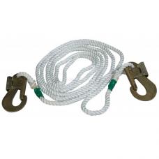Строп пояса канат ПА (В-10) L-10м ф13 с 2-карабином КР-03, КР-04 (Потенциал)