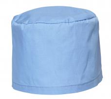 Колпак медицинский (тк.Смесовая) с завязочками голубой