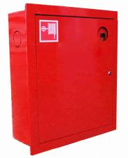Шкаф пожарный металл. встроенный 2отд. закрытый ШПК-310ВЗК 540х630х230мм красн.