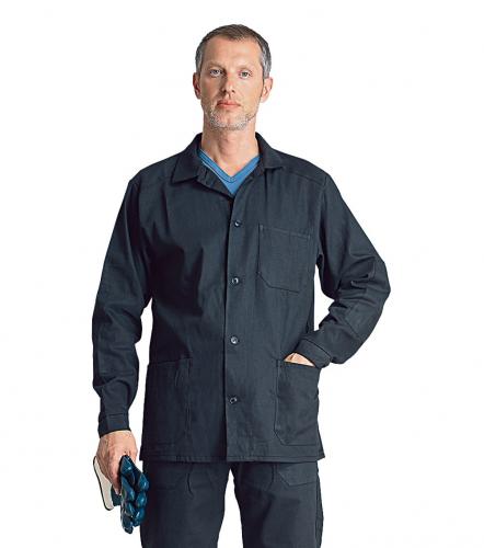 Куртка мужская для защиты от воды х/б темная