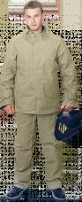 Костюм сварщика брезентовый ОП усиленный (550г/м2)