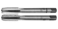 Метчик ручной для метрической резьбы комплектный из 2-х штук,сталь Р6М5 ,ГОСТ 3266-81
