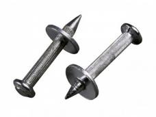 Дюбель-гвоздь цинк  с насаженной шайбой ТУ 14-4-1731-92