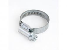Хомут кольцевой стальной винтовой 13-25мм (1