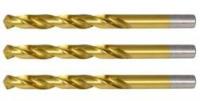 Новые позиции спиральных сверл с нитрид титановым покрытием.
