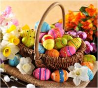С наступающим праздником Светлой Пасхи!