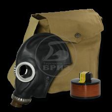Противогаз промышленный ППФ БРИЗ-3301 А1В1Е1К1Р1 маска ШМП в сумке