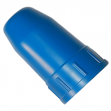 Колпак-головка пластик для кислородного и ацетиленового баллона синий