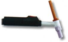 Горелка аргоно-дуговая АГНИ-12М AC-160А DC-200А охлаждение-газ L-3м эл.ф2-4мм 0,23кг