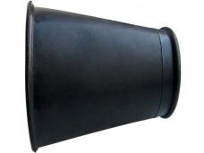 Манжета конус для полочки D60/D80 резиновая (Россия)