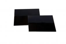 Стекло защитное светофильтр сварочное С3 9DIN 90х110мм д/маски Катран/Евро (1/25)