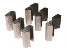 Скобы для стяжек упаковочной ленты 12мм 1.1 оцинкованные 1000шт (упак)