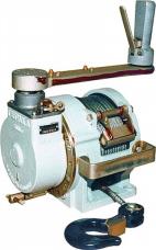 Лебедка ручная барабанная РЛ-500 0,5т канат 15м ф5мм червячная 15кг