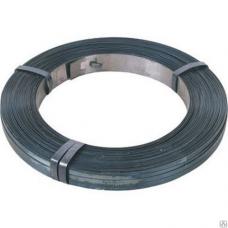 Лента стальная упаковочная 20х0,5мм х/к оцинкованная (08ПС) для обвязывания в/кг (1м-80г)