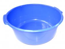 Таз пластиковый 10л круглый цветной ф365хh150мм