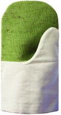 Рукавицы утепленные (ватин) тк.Двунитка с брезентовым наладонником ОП