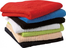 Полотенце махровое цветное 40х70/80см