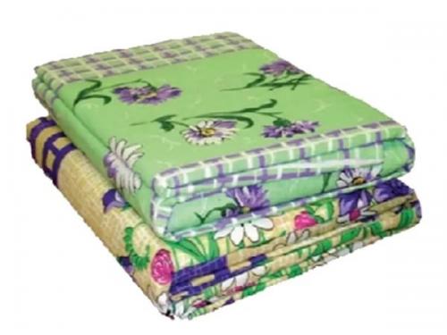 Комплект постельного белья КПБ 1,5-спальный (бязь набивная) цветной (Иваново)