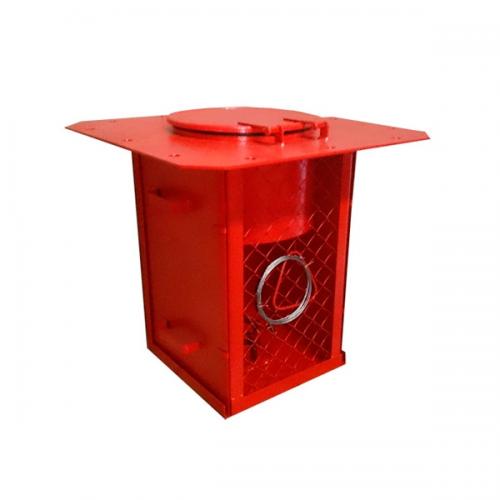 Генератор пены пожарный средней кратности ГПСС-600 600л/с 5-6л/с кр.100 L-10м ф70мм