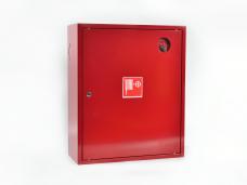 Шкаф пожарный металл. навесной закрытый ШПК-310НЗК 540х650х220мм для ф51/66мм красн.