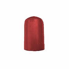 Колпак-головка пластик для ацетиленового и кислородного баллона черный/белый