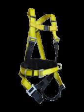 Привязь страховочная СП-03-аВ наплеч/набедр.лямки канат ПА амортизатор КР03,04 L1400