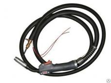 Горелка для полуавтомата ГДПГ-1602 160А евроразъем L-3м 0,8-1мм ПВ-60% 2,2кг