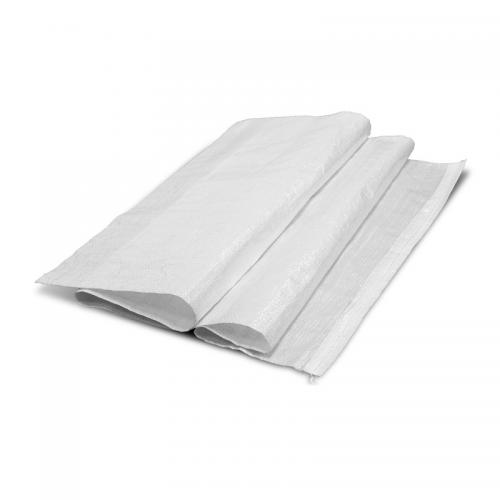 Мешок ПП 55х105см неламинированный с подшитыми краями белый 1/100