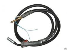 Горелка для полуавтомата ГДПГ-2003 200А евроразъем L-3м 0,8-1,2мм 60% 2,5кг