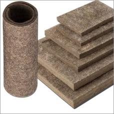 Войлок грубошерстный теплоизоляционный 10-12мм 0,16г (в/кг) ГОСТ6418-81