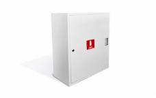 Шкаф пожарный металл. навесной закрытый ШПК-310НЗБ 540х650х220мм для ф51/66мм белый
