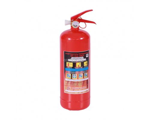 Огнетушитель ОП-2(з) ABCE порошковый 2кг 1,4МПа 6с 2м Ярпожинвест