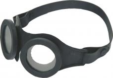 Очки защитные слесарные герметичные ЗНГ2 КЩС незапотевающие химстойкие резиновая оправа /22207/(РОСОМЗ)