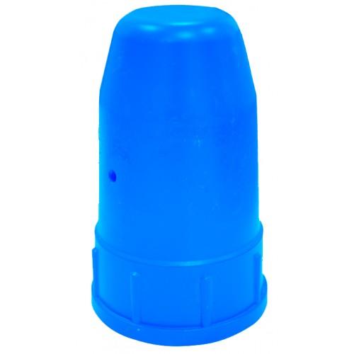 Колпак-головка металл для кислородного и ацетиленового баллона синий