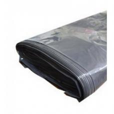 Мешок для мусора 120л ПвНД 70х110см 40мкм серый/черный (1/50/100шт)