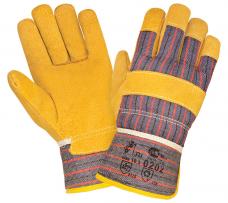 Перчатки комбинированные утепленные (иск.мех) (0202)
