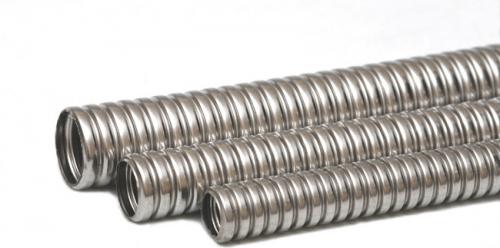 Металлорукав гибкий для проводки РЗ-Ц-Х ф20х24мм (бухта 50м/п) гофрир. негерметичный