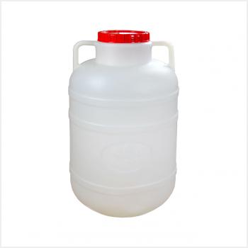 Канистра-бочка пластиковая 25л (М045) широким горлом ф260хh500мм 2ручки