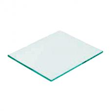 Стекло защитное покровное прозрачное 110х90мм приборное для маски сварщика (1/50)