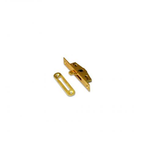 Завертка оконная врезная Apecs WL-0001G (мех. б/ручки) золото 4шур.,2винта (200)